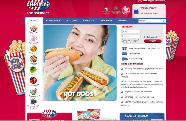 Jimmy' s Popcorn Webshop
